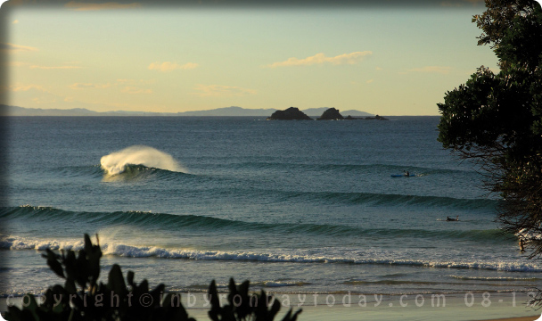In Byron Bay Today April 09